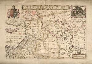 "1690 map including ""Garden of Eden"""