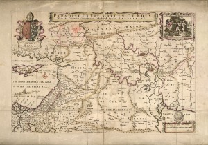 "1690 map including ""Garden of Eden"""